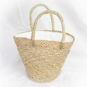 Palm Basket Bag