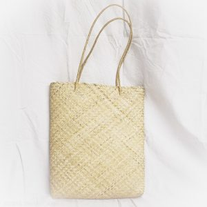 Magazine Straw Tote Bag
