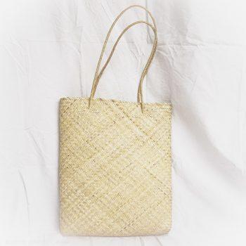 Magazine Straw Tote Bag