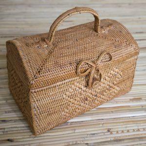Wicker Rattan Basket
