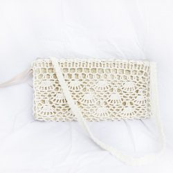 Macrame Palm Purse