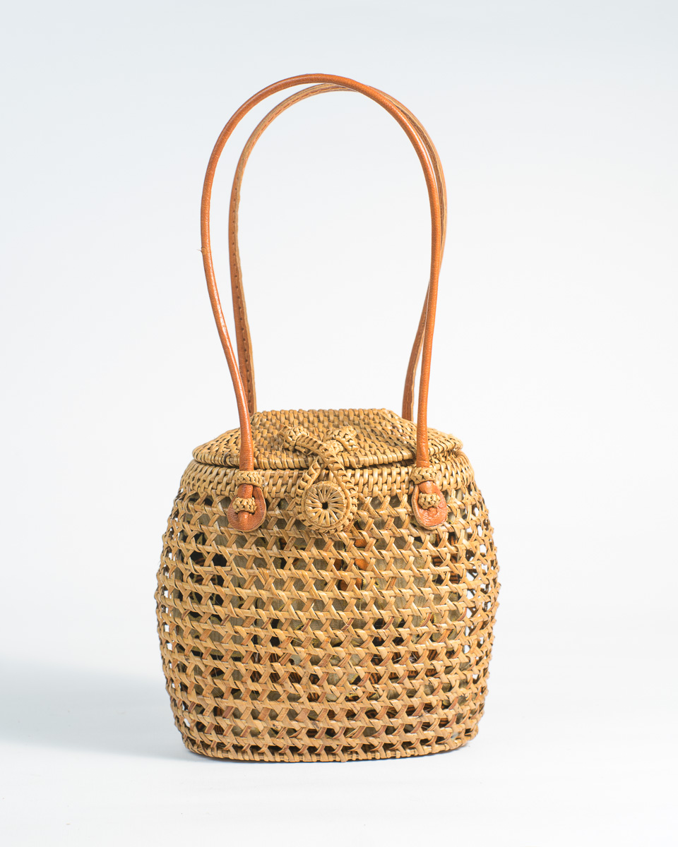 Cowbell Rattan Bag
