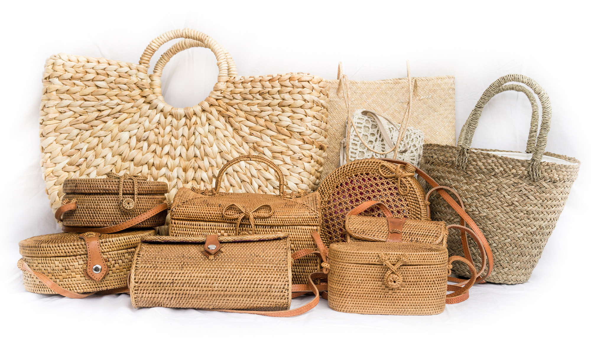 PolkaDee Natural Handmade Bags