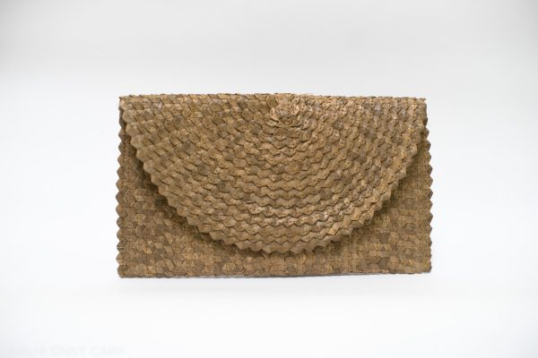 Palm Envelope Clutch