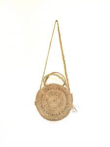 Rustic Round Palm Bag
