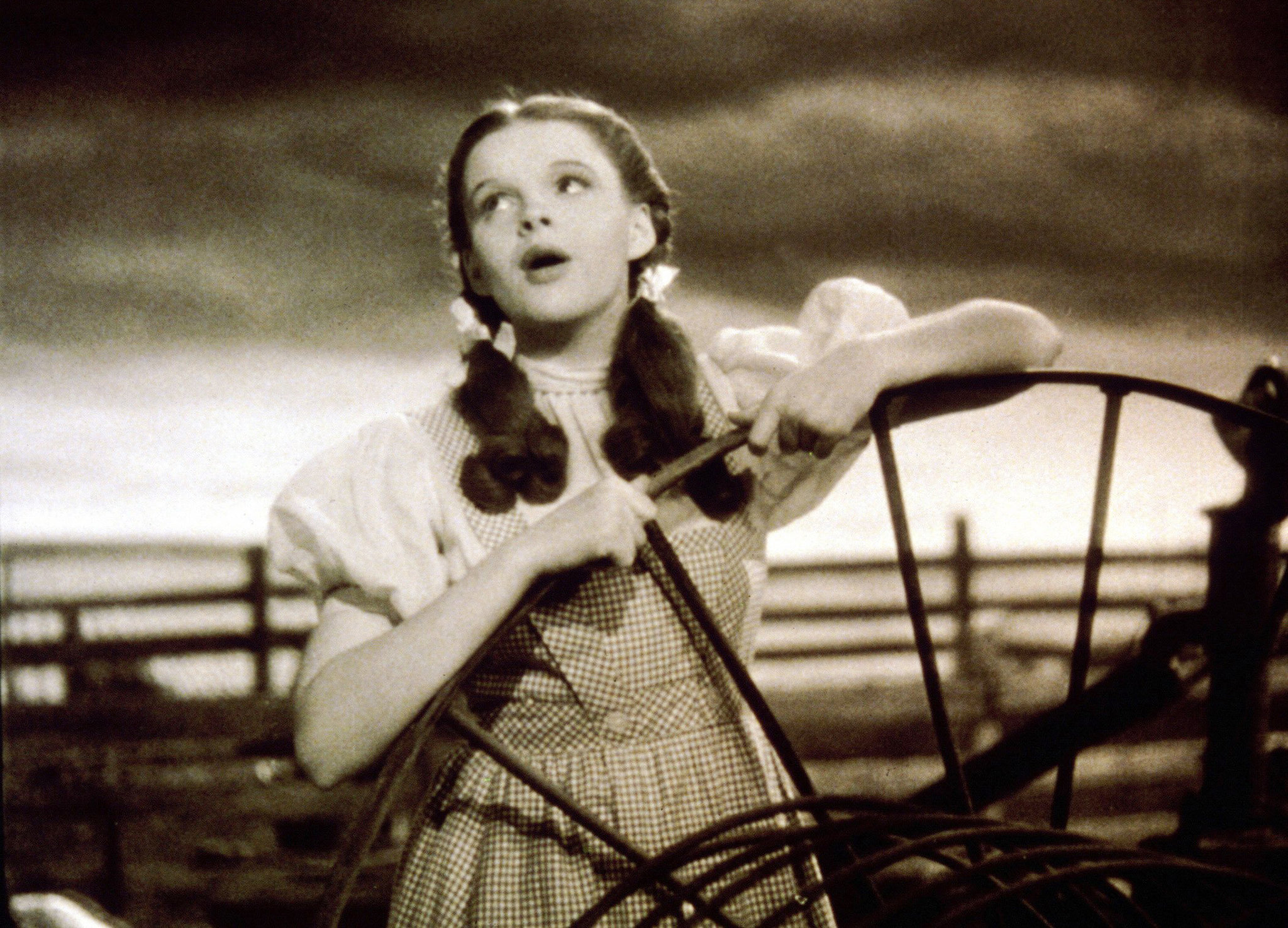 Judy Garland in Gingham